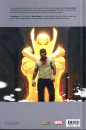 Verso de Iron Fist (100% Marvel - 2018) -1- L'Épreuve des sept maîtres