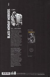 Verso de Black Monday Murders -1- Gloire à Mammon