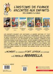 Verso de L'histoire de France racontée aux enfants -1- Des Origines à la Gaule