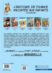 Verso de L'histoire de France racontée aux enfants -2- Le Moyen-âge