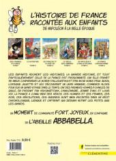 Verso de L'histoire de France racontée aux enfants -5- De Napoléon à la Belle époque