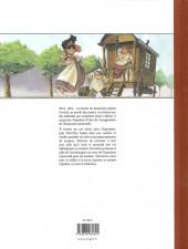 Verso de La fille de l'exposition universelle -TL- Paris 1855