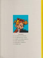 Verso de Spirou et Fantasio (en langues régionales) -16Catalan- Tembo tabú