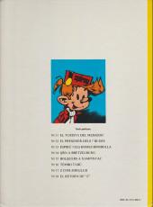 Verso de Spirou et Fantasio (en langues régionales) -18Catalan- El retorn de Z