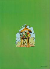 Verso de Spirou et Fantasio (en danois) (Splint & Co.) -8c88- Næsehornets hemmelighed