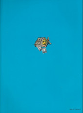 Verso de Spirou et Fantasio (en danois) (Splint & Co.) -11c89- Kvik i knibe
