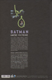 Verso de Batman : Dark Victory -INT a13- Amère victoire