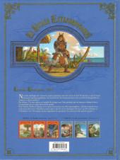 Verso de Le voyage extraordinaire -6- Tome 6 - Les Îles mystérieuses - 3/3