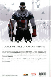 Verso de Captain America : Sam Wilson -2- Civil War II