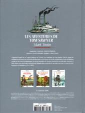 Verso de Les grands Classiques de la littérature en bande dessinée (Glénat/Le Monde) -38- Les Aventures de Tom Sawyer