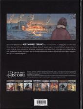 Verso de Ils ont fait l'Histoire -27- Alexandre le Grand