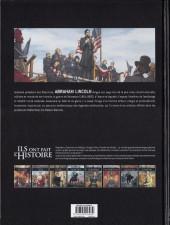 Verso de Ils ont fait l'Histoire -28- Lincoln