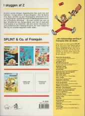 Verso de Spirou et Fantasio (en danois) (Splint & Co.) -3b90- I skyggen af z