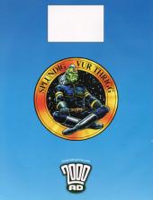 Verso de 2000 AD (1977) -FCBD 2014- 2000 AD - Free Comic Book Day 2014