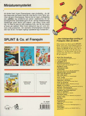 Verso de Spirou et Fantasio (en danois) (Splint & Co.) -4b90- Miniature mysteriet