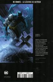 Verso de DC Comics - La légende de Batman -2047- Batman R.I.P.