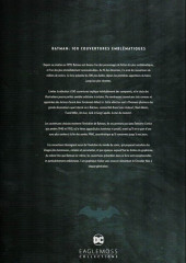 Verso de DC Comics - La légende de Batman -HS- Batman : 100 couvertures emblématiques 1939 - 2017