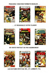 Verso de L'Étonnant Spider-Man (Éditions Héritage) -6970- Meurtre dans le vent !