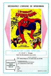Verso de L'Étonnant Spider-Man (Éditions Héritage) -101102- Maintenant vous me voyez !...