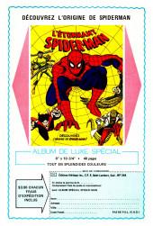 Verso de L'Étonnant Spider-Man (Éditions Héritage) -9596- Les ailes de la terrible Mouche