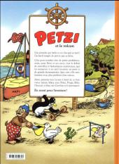 Verso de Petzi (Chours) -1- Petzi et le volcan