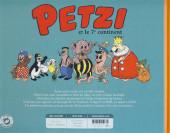 Verso de Petzi (Chours) -2- Petzi et le 7e continent