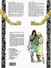 Verso de Thorgal -3a84- Les trois vieillards du pays d'Aran