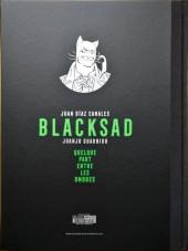 Verso de Blacksad -1TT- Quelque part entre les ombres