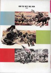 Verso de Movie comics (Gold Key) -307- How The West Was Won