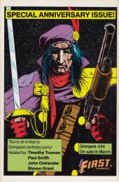 Verso de Nexus (1983) -21- The Battle for Ylum