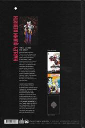 Verso de Harley Quinn Rebirth -2- Le Joker aime Harley