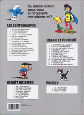 Verso de Les schtroumpfs -3b92- La Schtroumpfette
