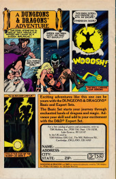 Verso de Night Force (1982) -2- The Summoning Chapter Two The Burning Hand!