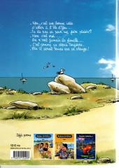 Verso de Alban Dmerlu (Éditions de Beaupré) -4- Sur l'Ile aux Patagos