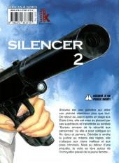 Verso de Silencer -2- Vol. 02