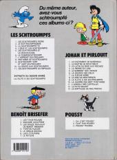 Verso de Les schtroumpfs -8b87- Histoires de schtroumpfs