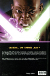 Verso de Star Wars - Mace Windu - Jedi de la République