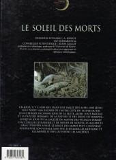 Verso de Chroniques de la nuit des temps -4a- Le soleil des morts