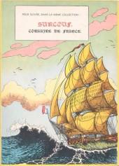Verso de Surcouf (Charlier/Hubinon) -1- Surcouf - Roi des corsaires