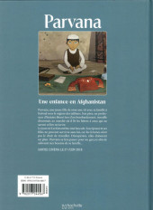 Verso de Parvana - Parvana - Une enfance en Afghanistan
