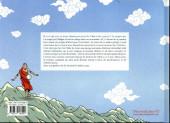Verso de Rêves sur le toit du monde