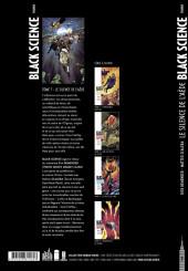 Verso de Black Science -7- Le Silence de l'Aède