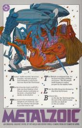 Verso de Outsiders (The) (1985) -9- Bentama Means ...Betrayal!