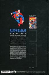 Verso de Superman - Man of Steel -1- Volume 1
