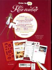 Verso de La rose écarlate -HS2- Crée ta BD
