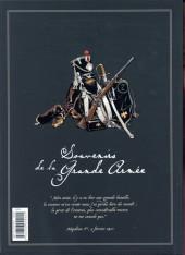 Verso de Souvenirs de la Grande Armée -INT- Edition Intégrale