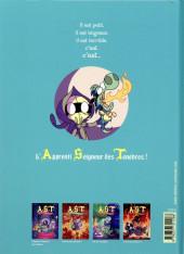Verso de A.S.T. - L'Apprenti Seigneur des Ténèbres -5- Aventures baveuses