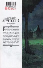 Verso de Promised Neverland (The) -2- Sous contrôle