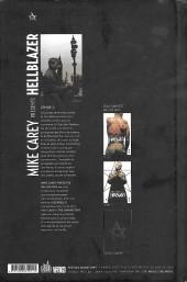 Verso de Hellblazer (Mike Carey présente) -2- Volume II