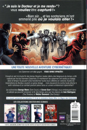 Verso de Doctor Who - Le Règne des cybermen